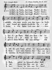 Stille Nacht! Heilige Nacht! – Weihnachtslieder mit Noten und Texten, ein Servic… – petra möhrstedt