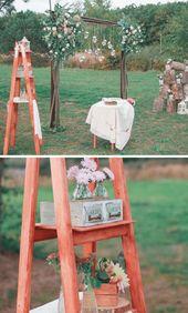 Outdoor-Zeremonie: 50 atemberaubende Hochzeitseinstellungen – Freie Trauung – Deko Ideen