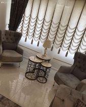 Dieser Salon Symmetrical Overlay Stylish Look Filled Eye!   – Wohnzimmer ideen