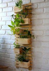 5 vertikale Gartenideen für Apartments und Balkone – squid quids -5 vertikale Gartenideen für Apartments und Balkone – squid quids-