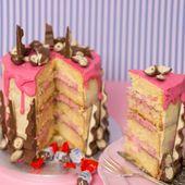 Schokoladenkuchen für Kinder mit Himbeerfüllung | Anleitung für einen Kuchen mit … – Torten
