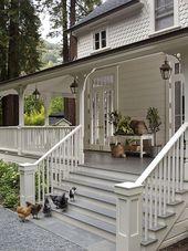 70+ Top Modern Farmhouse Exterior Design Ideas – #…