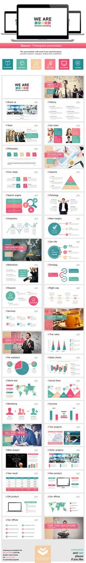 Mevo Powerpoint Presentation Template (Powerpoint Templates - professional power point template