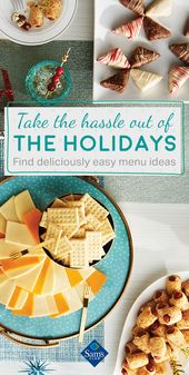 Host a memorable get-together this holiday season with delicious appetizers, des…