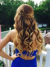 21 Gorgeous Homecoming Hairstyles for All Hair Lengths | Hair | Long hair styles…