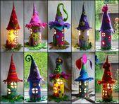 Selber ungewöhnliche Weihnachtsdekorationen basteln – 42 Bastelideen mit Klopapierrollen   – Weihnachtsbasteln
