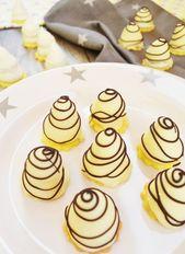Sie dürfen zu Weihnachten nicht fehlen! Weiße Schokoladenüberzüge   – Food and drink