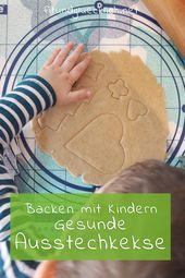 Baking with children – healthier cookie cutters