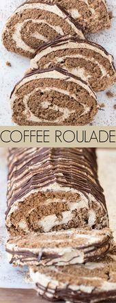 Coffee Roulade – Kochen, Backen und Essen