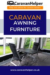 Caravan Awning Furnishings and extra inexpensive caravaning equipment and devices by Caravan Helper UK