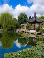 12 Creative ideas for large gardens in the garden   – Balkon Garten Ideen