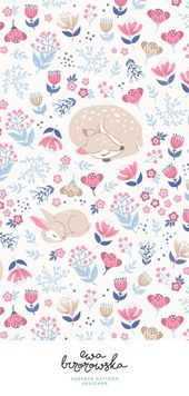 Baby Ilustration 63+ New Ideas For Flowers Wallpaper Iphone Pattern Floral Prints