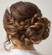 24 Best Braided Updo Prom Hairstyles, Wedding, Wedding, Updo