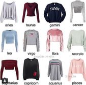 Tops depending on your Zodiac💖