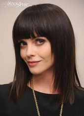 Hottest haircuts with bangs here #HottestHaircuts