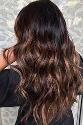 Was für ein Schwung für dein braunes Haar?   – coiffure