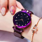 Luxury Diamond Rose Gold Women Watches Quartz Wrist Watch – Watch