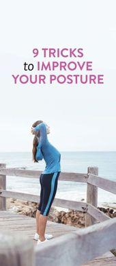 9 Ways To Improve Your Posture