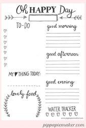 Wie 15 Minuten Planung dich produktiver und entspannter machen + kostenloser Tagesplaner