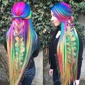 Bildergebnis für haarfarben ombre bunt