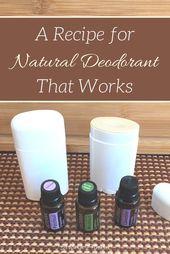 Never Stink Natural Deodorant