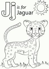 Pin By Matseliso Photolo On Jaguar Themed Abc Coloring Pages Preschool Coloring Pages Cartoon Jaguar