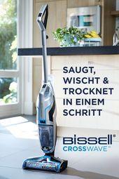 Photo of Entdecken Sie BISSELL CrossWave Vacuum, wischen und trocknen Sie es in einem Schritt …
