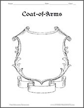 Coat Of Arms Printable Have Stamps At Each GameCraft For The