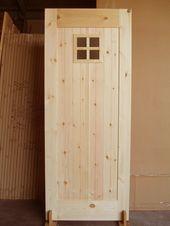 本物 健康志向の福州杉 レッドパインによる無垢の木製建具ドアや洗面