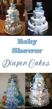 Baby Shower Diaper Cake Tutorial – Hip Hoo-Rae