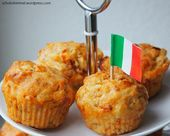 Fußballabend! Und dazu gibt's Tomate-Mozzarella in Form von Muffins