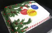Weihnachts-Blechkuchen – Google-Suche   – Cake decorating