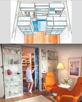 Kallax shelves as a walk-in wardrobe