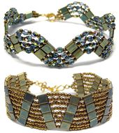 Dream-of-beads: This page is recommended – Tila and Duo Beads