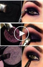 Jeden Tag Smokey Eye Make-up Tutorial, obwohl Makeup Geek Friend Zone ist …   – Maquillage des Yeux