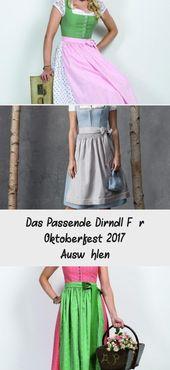 Das passende Dirndl zum Oktoberfest 2017 auswählen – Oktoberfest Outfit