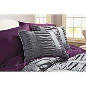 Better Homes Gardens Full Embroidered Ruching Comforter Set 7 Piece Walmart Com Comforter Sets Bed Comforters Bed