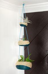 IKEA Hack: Intelligent Hanging Planter Basket Set