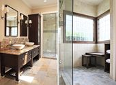 Marvelous Image of Master Bath With Two Mirrors