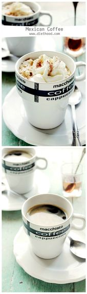Hot coffee, Tequila, Kahlua, and Vanilla Ice Cream – BEST coffee drink on the pl…  – DIY Ideas