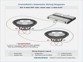 Crutchfield Sub Wiring Diagram Best Of Crutchfield Wiring Diagram Subwoofer Wiring Car Audio Subwoofer