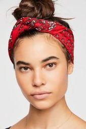 Stirnband Frisuren # Stirnband Frisuren Haarknoten mit Kopftuch Kopftuch #Kopfband #Frisuren