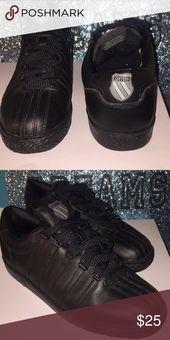 K.Swiss Black K.Swiss. K-Swiss Shoes Sneakers reinigen