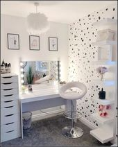 30+ Cool Makeup Vanities Cases Ideas For Stylish Bedroom