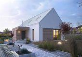 Projekt domu z poddaszem Z pomysłem 1 o pow. 106,…