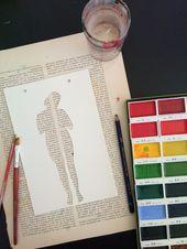 El álbum único y creativo de Vanessa, State of Me: Body   – diy kunst