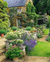 50 Beautiful Flower Garden Design Ideas (8) – English Gardens