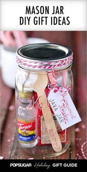 """12 DIY Einmachglas-Geschenke, die total glasig sind   – """"Selbstgemachtes"""""""