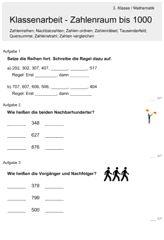 Kleine Einmaleins Zahlenreihen | Grundschule | Pinterest ...