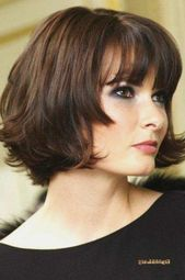 194 Oversized Short Hairstyles for Round Faces #Faces #Hairstyles #Round #Short